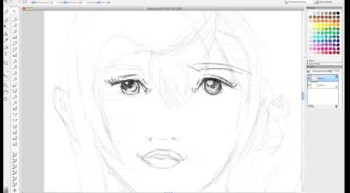 HOW TO DRAW A LIFE LIKE PORTRAIT OF SARA FROM FINAL FANTASY XII 13 Tutorial