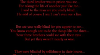 Blind Man Can You See