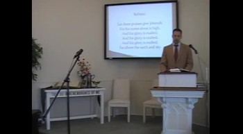 Congregational Hymn: Hallelujah, Praise Jehovah, First OPC Perkasie, PA, 7/08/12