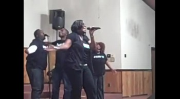 """Stacey Arielle singing """"For Your Glory"""""""