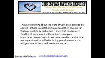 Basic Premarital Christian Counseling Questions