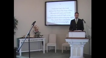 """Congregational Hymn: """"From Out the Depths"""" First OPC Perkasie, PA 7/15/12"""