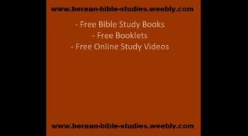 Free Bible Study Resources - Sermon Videos
