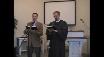 """Special Music: """"Come to the Savior Now,"""" Waggoner & MacLaren, 7/22/12 First OPC Perkasie, PA"""
