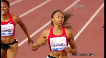 Olympic Runner Allyson Felix Depends on Faith
