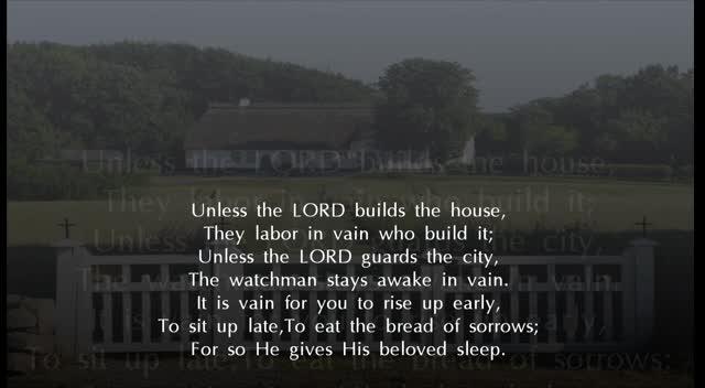 Psalm 127 NKJV Scripture Song
