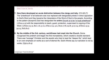 Podcast! Samson, Early Church and Church today?