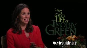 THE ODD LIFE OF TIMOTHY GREEN - Jennifer Garner interview