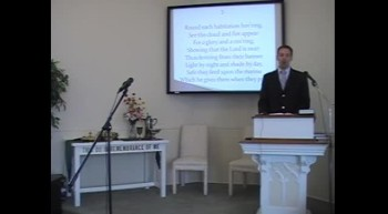 """Hymn: Glorious Things of Thee Are Spoken,"""" First OPC Perkasie, PA 8/05/12"""