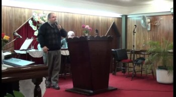Testificando que Jesucristo es el Salvador. Hno. Javier Almirón. 04-08-2012