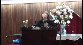 Dando Testimonio del milagro de Dios. Hna. Viviana Garcia. 24-07-2012