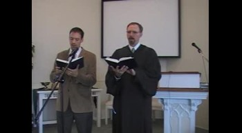 """Special Music: """"When I Survey the Wondrous Cross,"""" First OPC Perkasie, PA 8/19/12"""