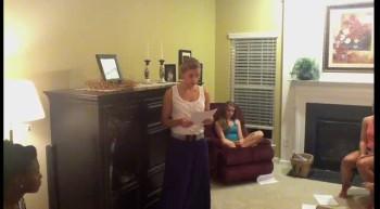 Tribute Speech - Hannah Holm