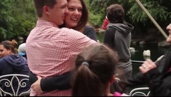 Sweet Disneyland Marriage Proposal