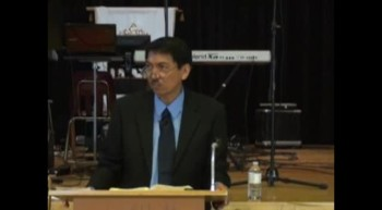 Pastor Preaching - August 19, 2012