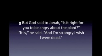 Choices Jonah chapter 4- Are you running ahead of God?