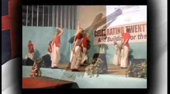 """GREAT GOD!"" - Military-style Flag Dance"