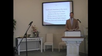 """Congregational Hymn: """"Christ, Whose Glory Fills the Skies,"""" First OPC, Perkasie, PA 9/02/12"""