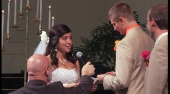 Cute Back and Forth Wedding Vows!