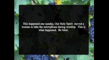 Holy Spirit Speaking