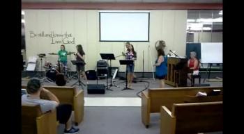 Youth Singing - June 19, 2012
