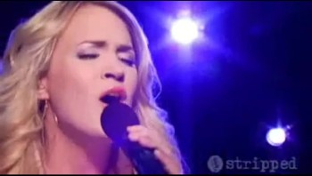 Carrie Underwood's Sweet Performance of God Bless the Broken Road