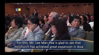 [Shinchonji] Shinchonji Europe Open Bible Seminar broadcasted