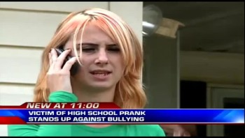 Bullied Teen Rises Above Horrible Prank - THUMBS UP IF YOU SUPPORT WHITNEY!!!