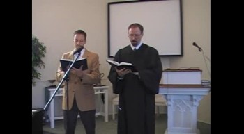"""Hymn: """"I Love to Tell the Story,"""" Waggoner & MacLaren, First OPC Perkasie, PA 9/30/12"""