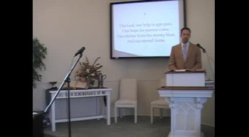 """Congregational Hymn: """"O God, Our Help in Ages Past"""" First OPC Perkasie, PA"""
