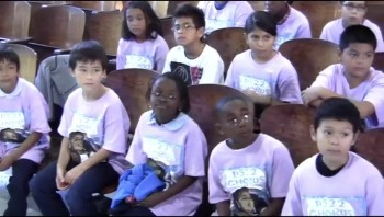 ♥ Sweet Inner City Kids Sing Home - Anthem song for the U.S. Olympics