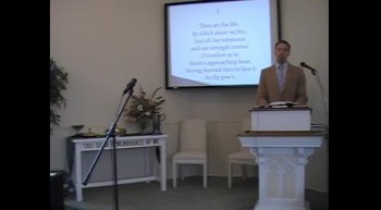 """Congregational Hymn: """"I Greet Thee, Who My Sure Redeemer Art,"""" First OPC Perkasie, PA 10/07/12"""
