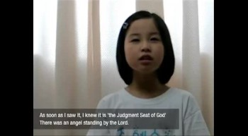 Judgment Day and the Return of Jesus. The vision of a young asian girl named Sarang.