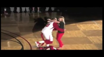 Basketball Coach Shocks His Girlfriend With This ADORABLE Proposal!