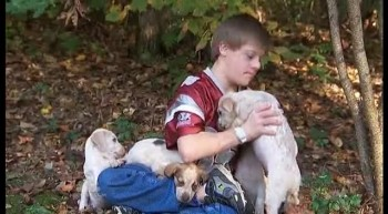 Boy With Down Syndrome Gets Lost...And Saved By Puppies!
