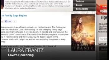 Laura Frantz LOVE'S RECKONING