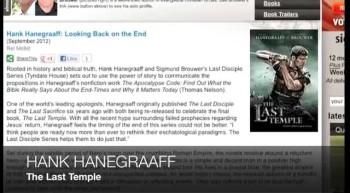 Hank Hanegraaff THE LAST TEMPLE