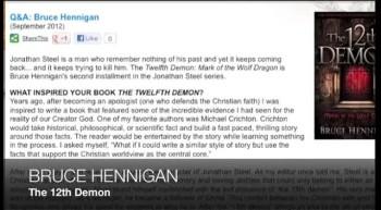 Bruce Hennigan on THE 12TH DEMON