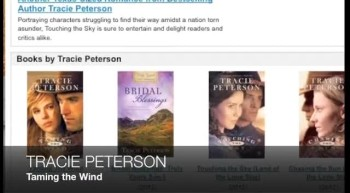 Tracie Peterson TAMING THE WIND