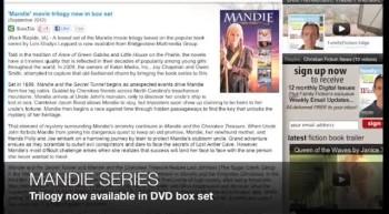 Mandie movie trilogy