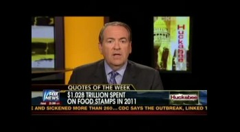 HUCKABEE REMARKS ON WELFARE