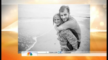 Injured Vet Taylor Morris  Girlfriend on the Today Show.