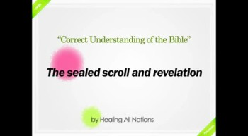 [Shinchonji-LeeManHee] The sealed scroll and revelation