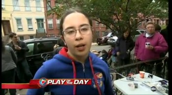 Hero 11 Year-Old Brings Hope to Victims of Hurricane Sandy