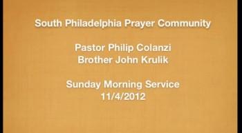 SPPC Sunday Service - 11/4/12