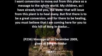 Rosary of 7 November 2012, Borg in-Nadur