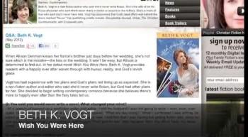 Beth K. Vogt WISH YOU WERE HERE