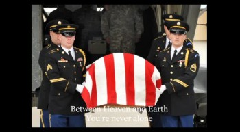 Fallen Soldier is Carried Home by an Angel - a Beautiful Memorial Tribute