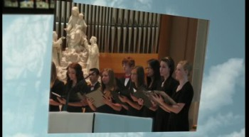 LCS Choir Performs at Holy Rosary Chapel