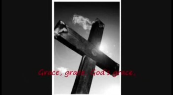 "Gospel Harmonica Hymn ""Grace Greater Than All Our Sin"" with lyrics."